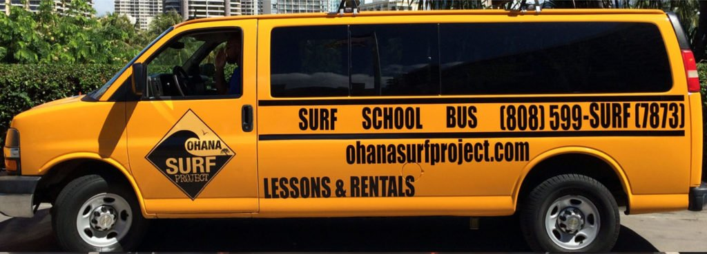 Waikiki Surf Lessons Free Transportation